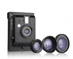 LomoInstant Camera Black + 3 lenses